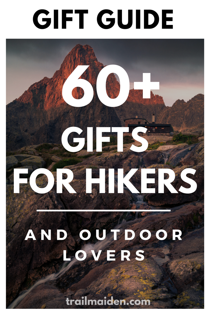 545480d222 Ultimate outdoor gift guide with over 60 awesome gifts for hikers and  backpackers! Use this simple list to and make your special hiker happy!
