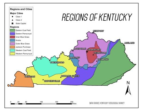Cultural Geographic Regions Of Kentucky Culture And