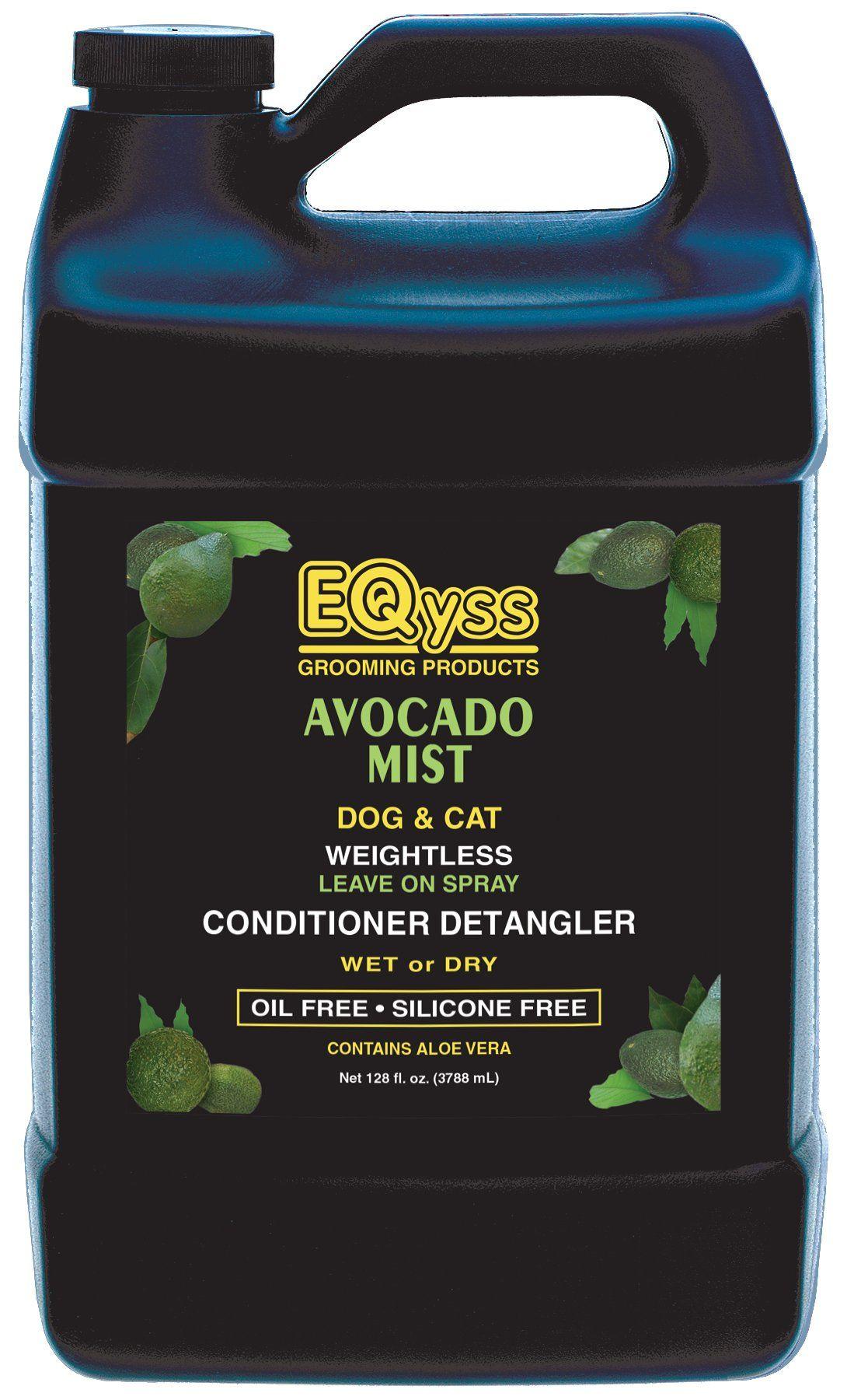 EQyss Avocado Mist Pet Conditioner Spray 128 oz You can