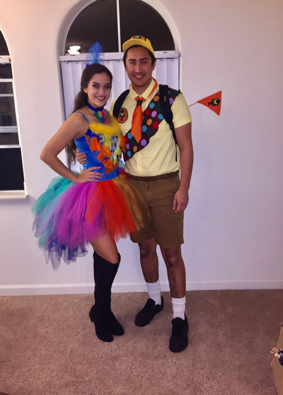 disneys up movie kevin and russell couples costume