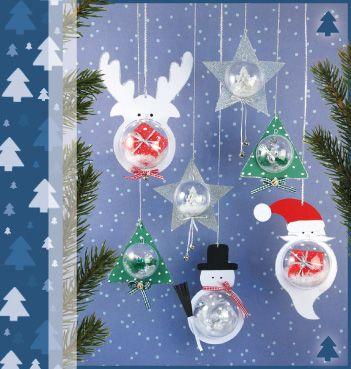 plastic kerstbal knutselen google zoeken knutselen pinterest xmas crafts snowflake. Black Bedroom Furniture Sets. Home Design Ideas