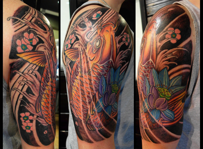 Japanese Traditional Koi Fish Tattoo By Tony Nguyen Koi Fish