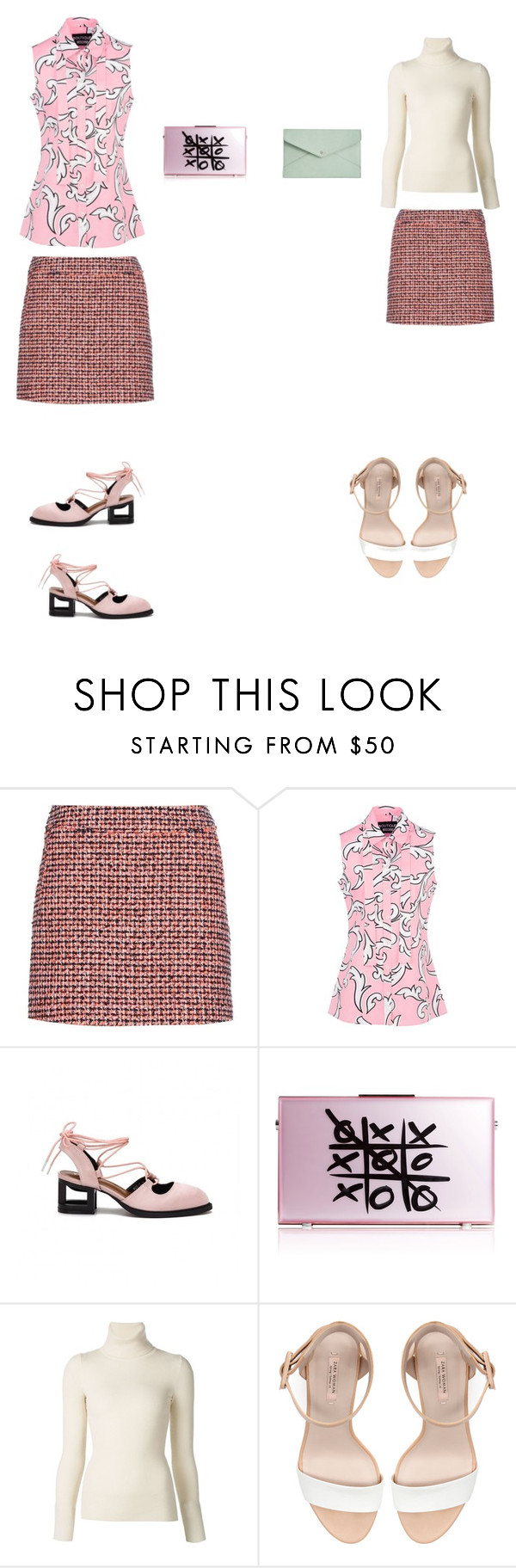 """""""Untitled #427"""" by aayushis ❤ liked on Polyvore featuring dVb Victoria Beckham, Boutique Moschino, xO Design, Emanuel Ungaro, Zara and Danielle Nicole"""