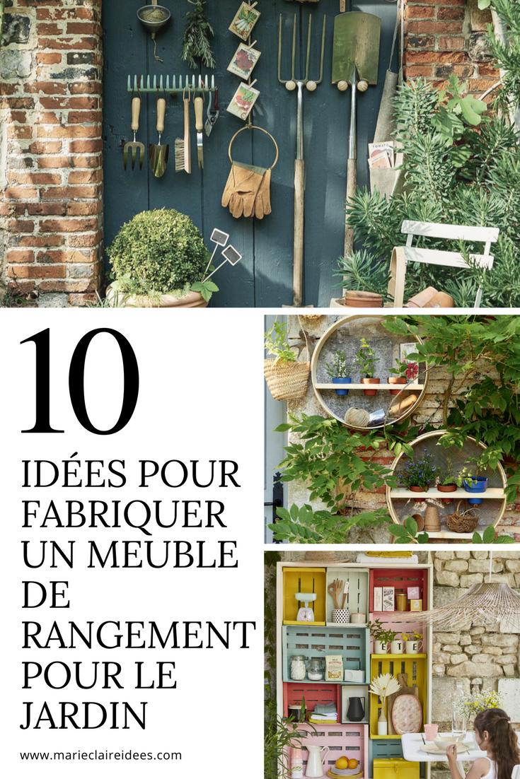 10 Idees De Meubles De Rangement Pour Le Jardin A Fabriquer Soi Meme Rangement Jardin Jardins Amenagement Jardin