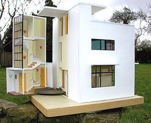 Modern dollhouse   Cool things   Pinterest   Doll houses, Modern ...