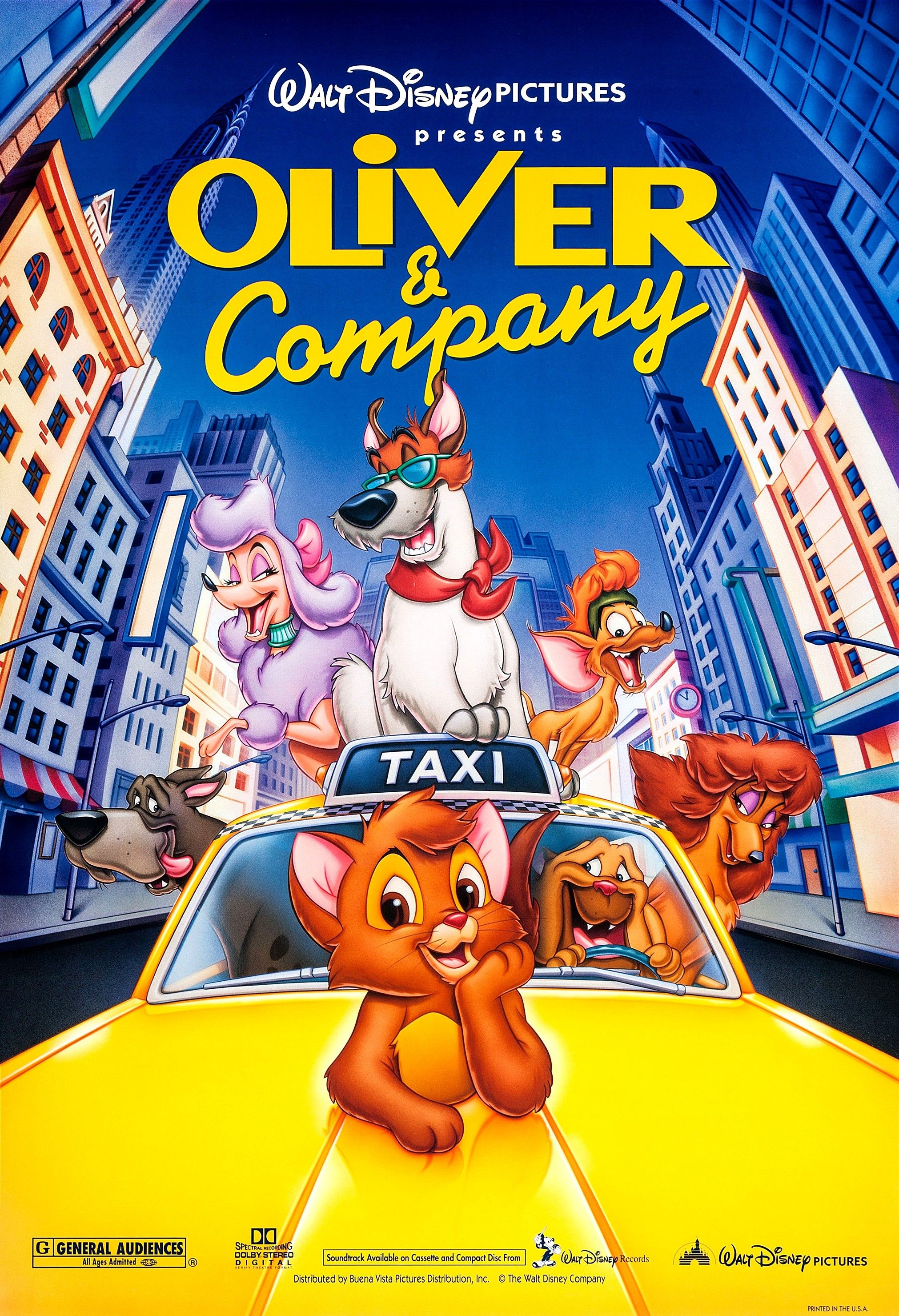Cat Love ♥ Film Oliver & Company Oliver, company