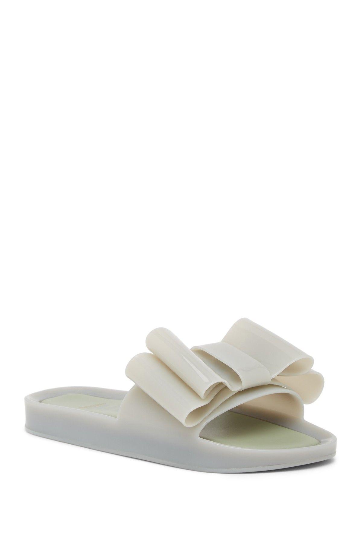 83399d78a86e Melissa Beach Bow Jelly Slide Sandal