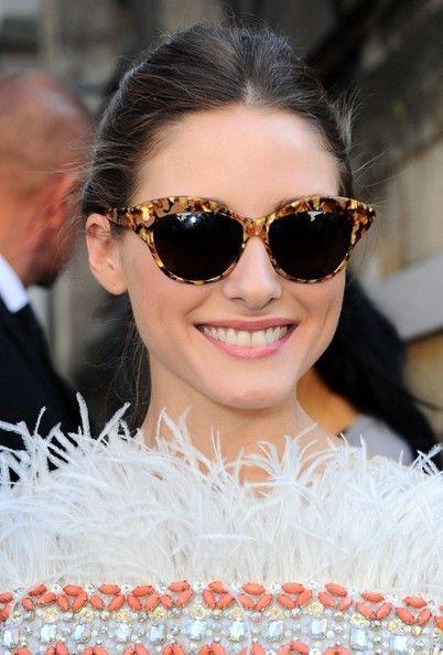 Olivia Palermo Cateye Sunglasses - Olivia Palermo Sunglasses Looks - StyleBistro