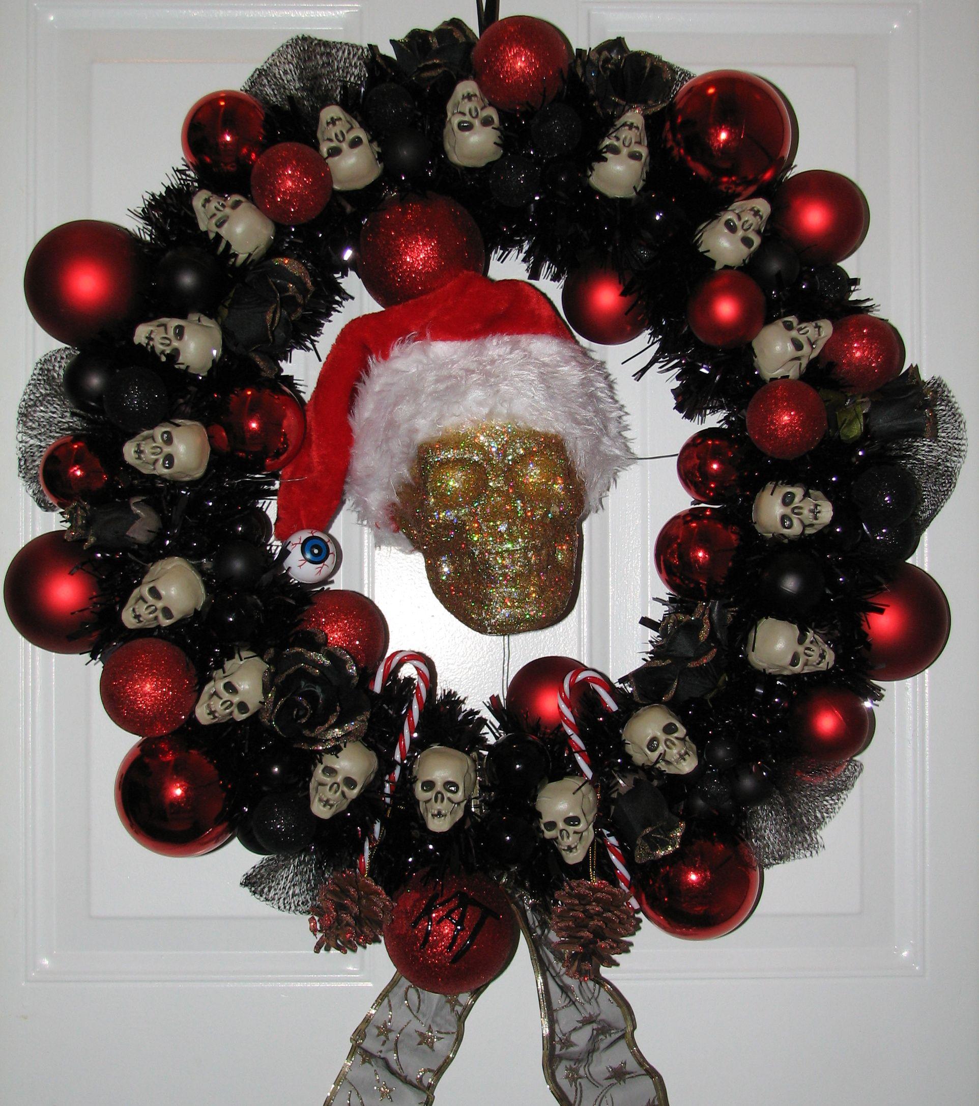 23+ Gothic christmas wreath info