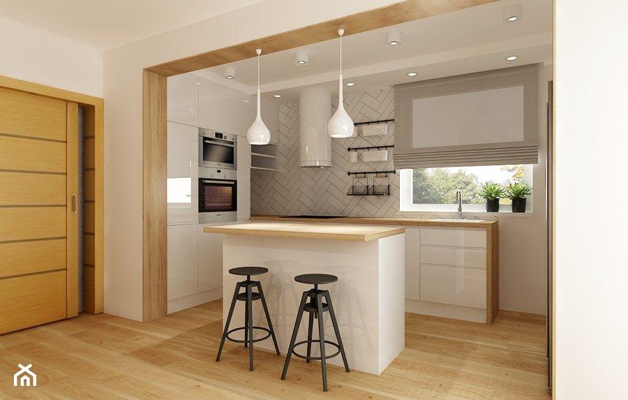 Znalezione Obrazy Dla Zapytania Wyspa Miedzy Kuchnia A Salonem Kitchen Design Small Kitchen Design New Homes