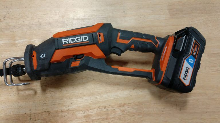 Ridgid Octane 18v Brushless One Handed Reciprocating Saw Review R86448 Reciprocatingsaw Sawzall Sawreviewed Best In 2020 Ridgid Tools Tool Storage Diy Tool Storage