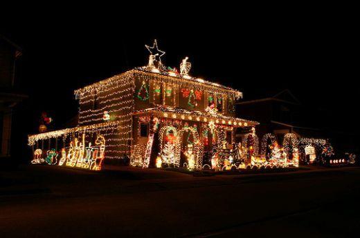 Large Christmas Light Displays Crazy Christmas Lights Christmas