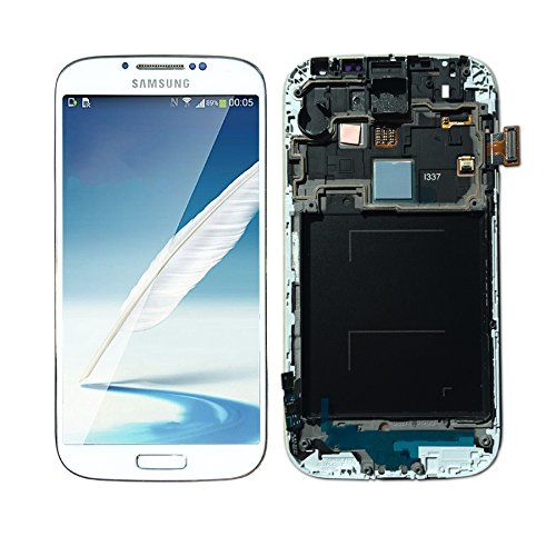 Samsung Galaxy S4 Screen Replacement for I337/M919 White with Frame ...
