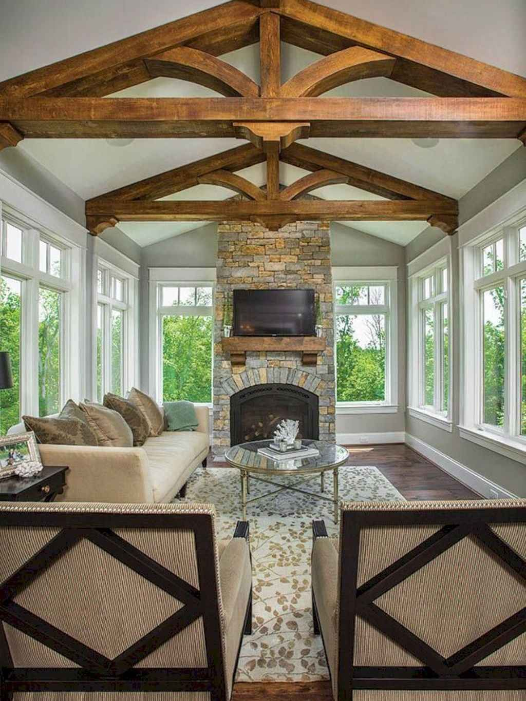 Back Porch Additions Best Ideas About Room Additions On House Additions Interior Designs: Comfy Farmhouse Sunroom Makeover Ideas (7 In 2020