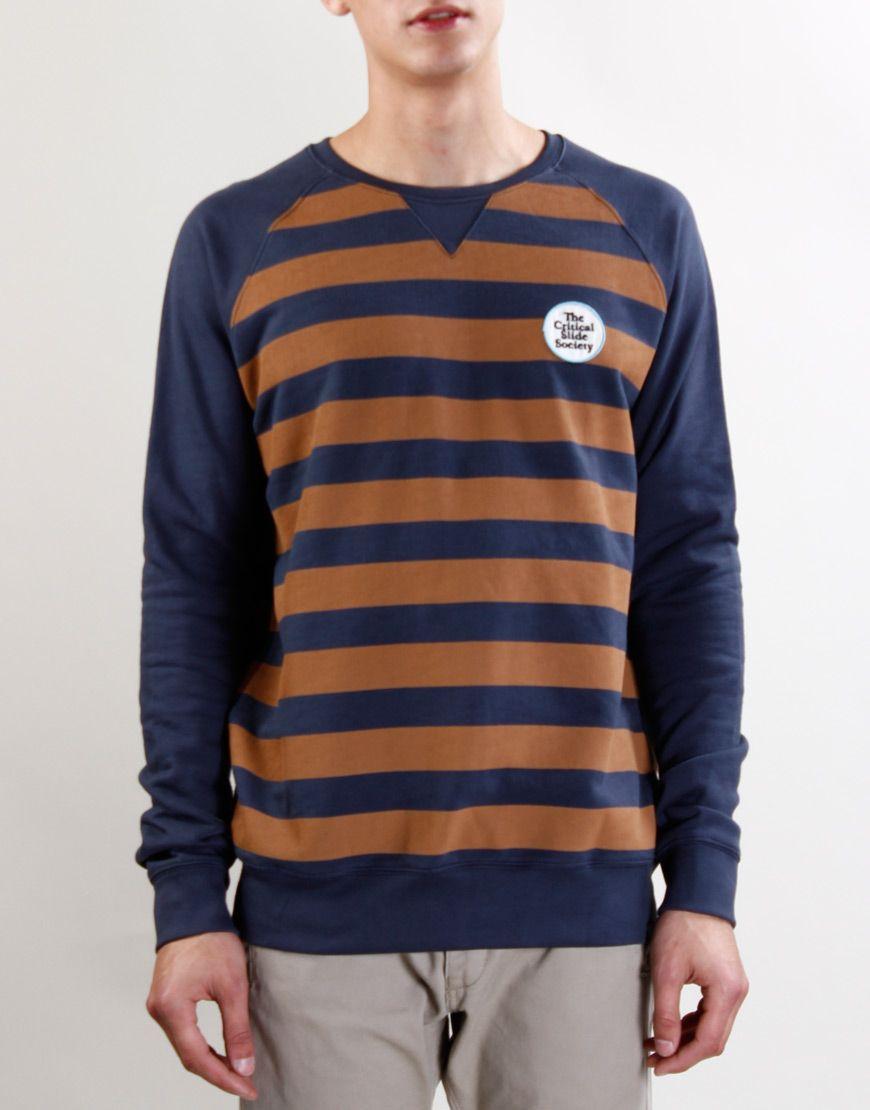 The Critical Slide Society Vintage Navy Bumble Sweatshirt - Kaeho Australia
