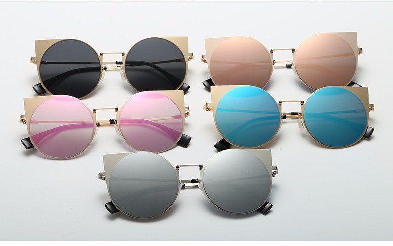 27ff6ac2727cb Womens  Meow  Retro Cat Eye Round Mirror Sunglasses Astroshadez –  ASTROSHADEZ.COM