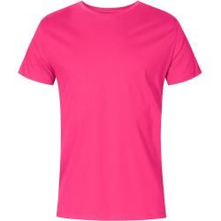 Photo of Round neck t-shirt plus size men, pink