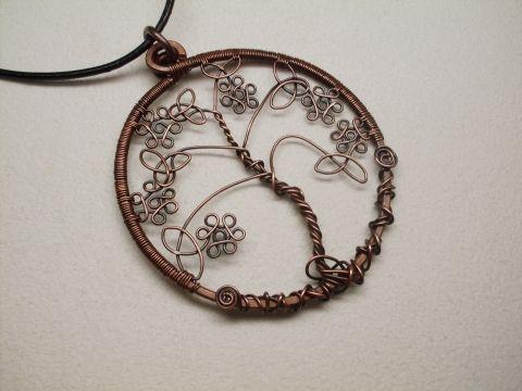 Vörösréz kelta életfa (PerAnnaEkszer   Bäume, Baum des Lebens und Blume