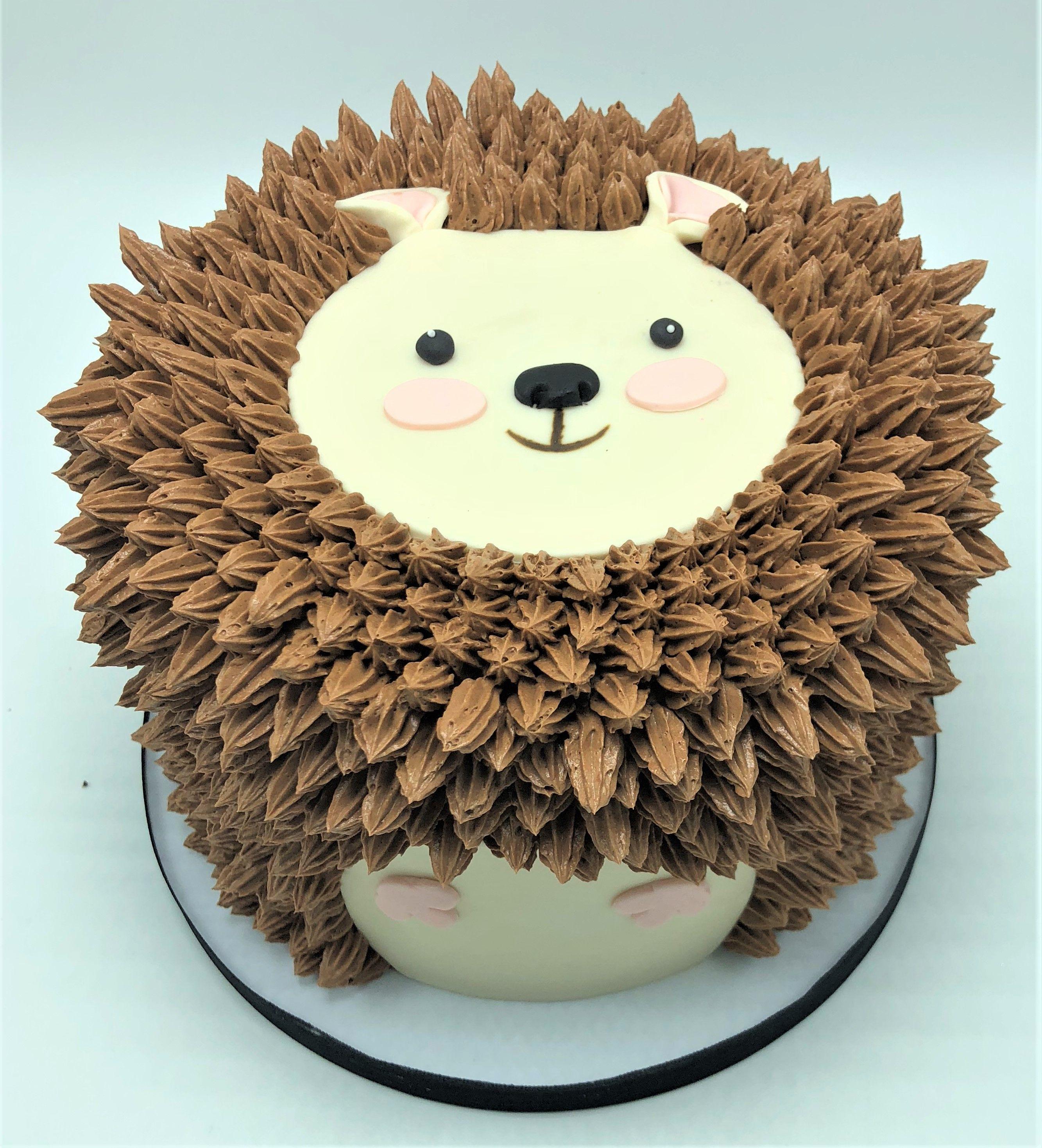 Hedgehog cake by flavor cupcakery hedgehogcake hedgehog