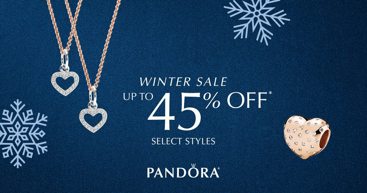Visit Us Today And Enjoy Up To 45 Off Select Pandora