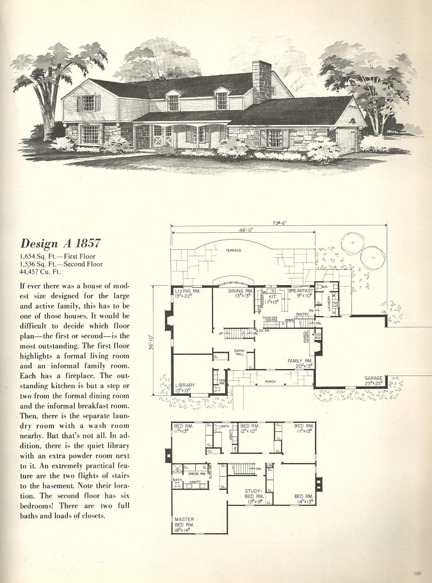 vintage house plans farmhouses colonial house plans