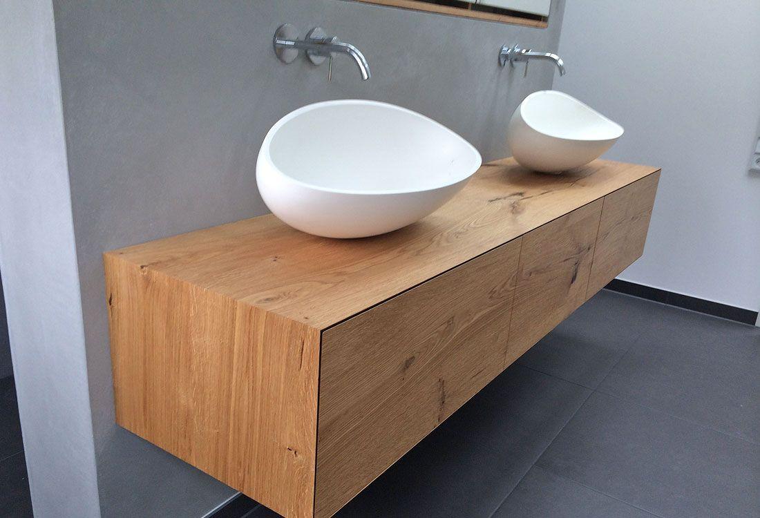 waschtisch h ngend schreinerei interieur waschtisch badezimmer und bad waschtisch. Black Bedroom Furniture Sets. Home Design Ideas