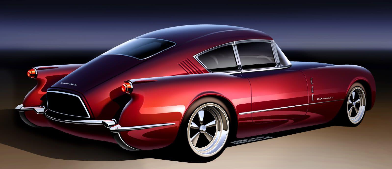The Return Of The 1954 Autorama Corvette Kit Cars Retro Cars Chevrolet Corvair