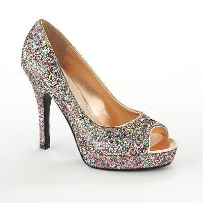 Sparkle high heels, Heels, Heels