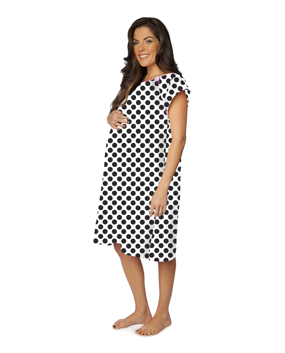 Celine Gownie Maternity Delivery Labor Hospital Birthing Gown ...