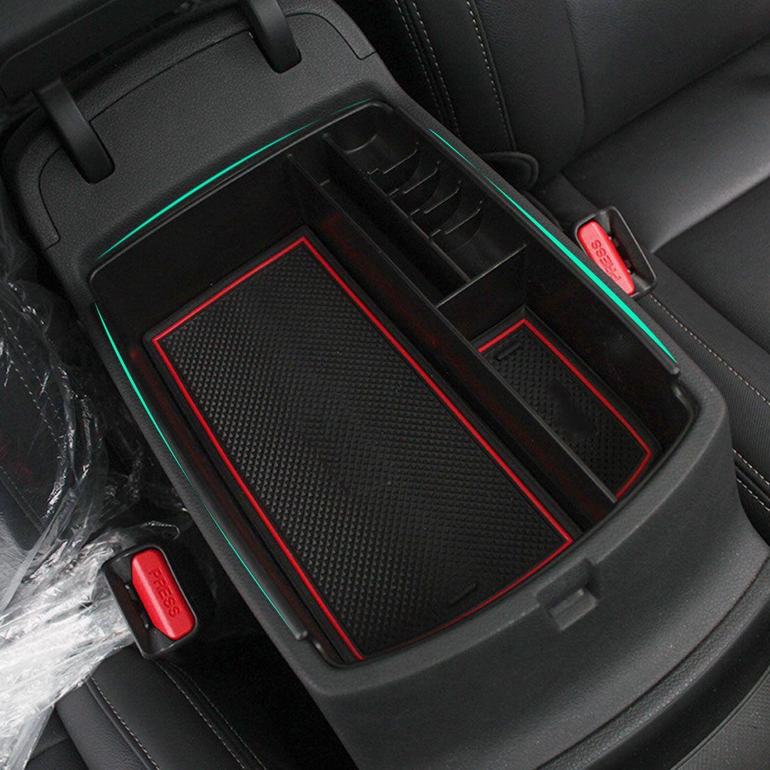 2014 Kia Sportage Interior: ABS Plastic Central Armrest Secondary Storage Glove Box