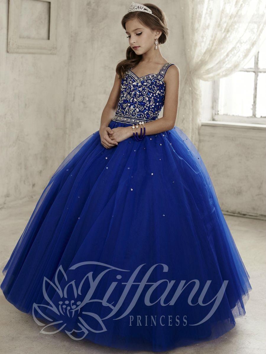 Tiffany Princess Little Girls Dress 13443 Flavia