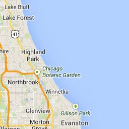 Area Vibes Approachable Layout Of Chicago Neighborhood
