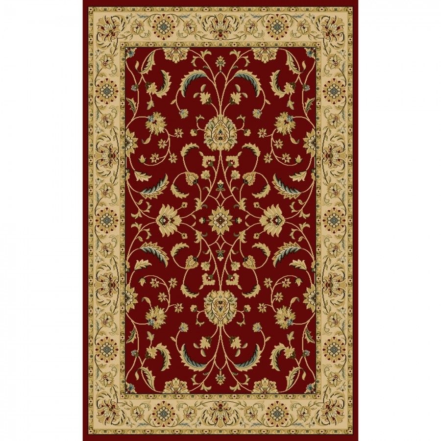 Central Oriental Interlude Atelier Red Rug 8810rd