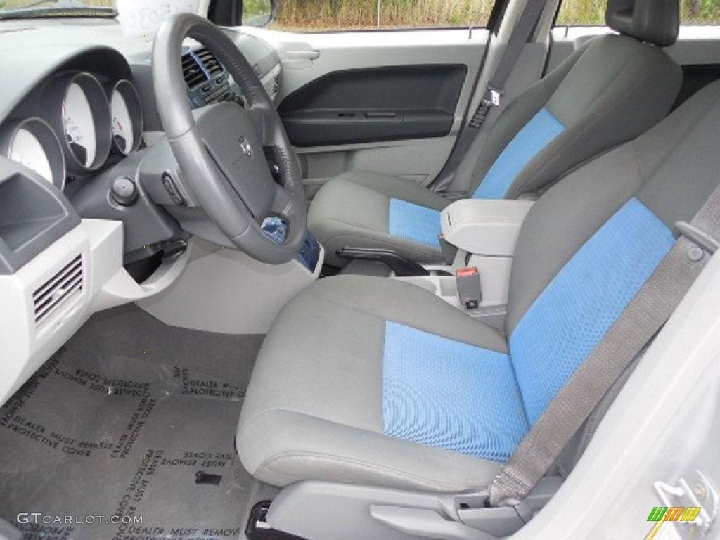 Pastel Slate Gray/Blue Interior 2007 Dodge Caliber SXT Grey And Blue  Interior