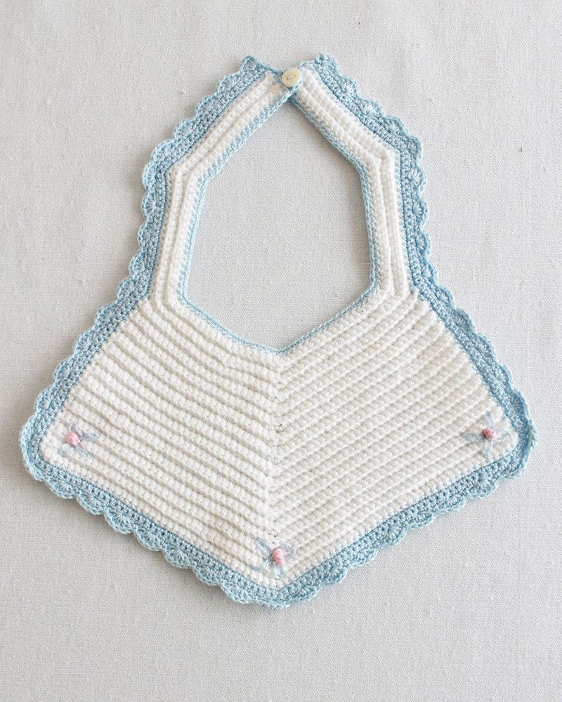 Vintage Bibs & Booties Crochet Pattern | Ropa de bebés, Bebé y Tejido