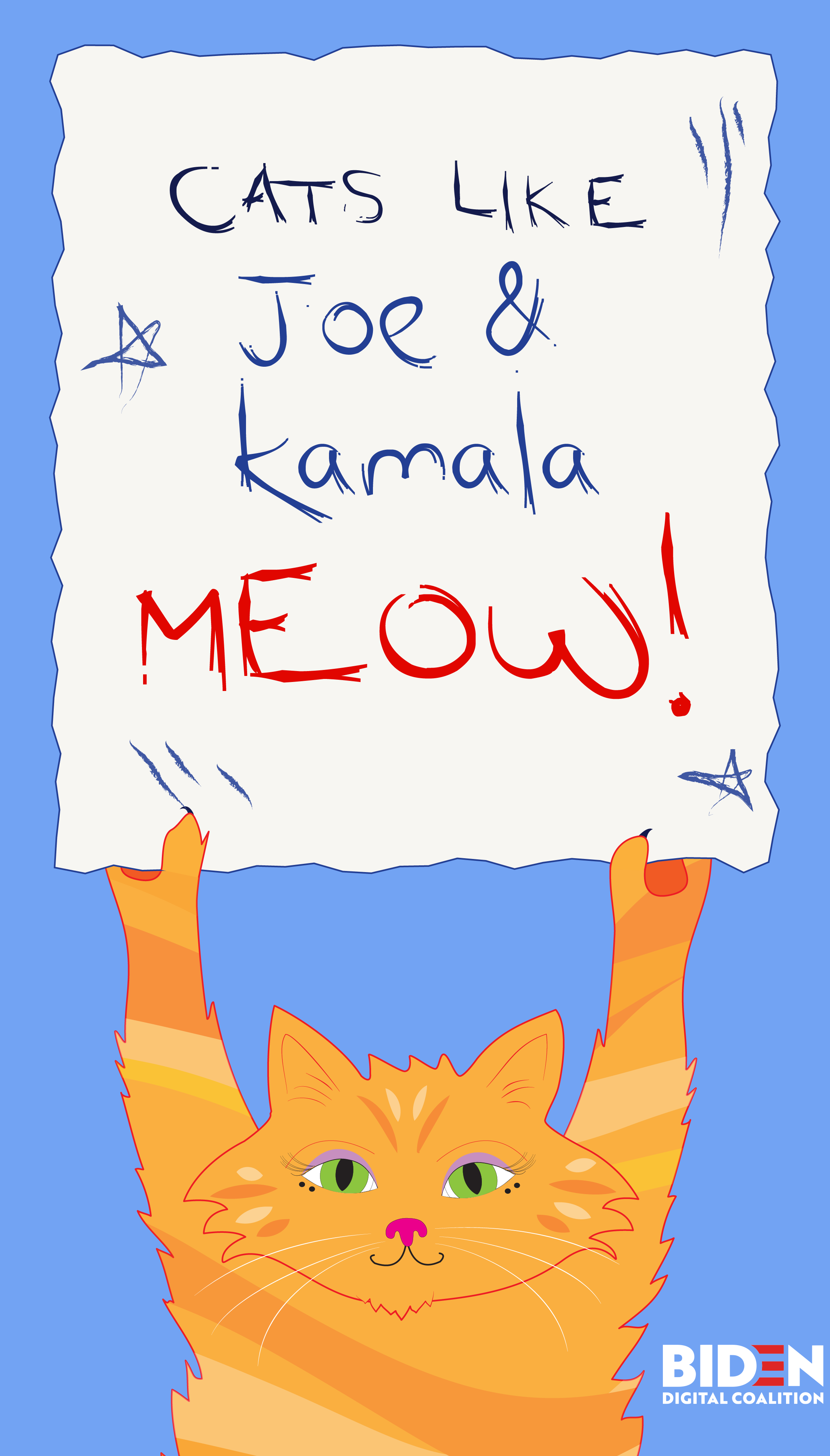 Cats Like Joe Kamala Cats Cute Cats Funny Cats