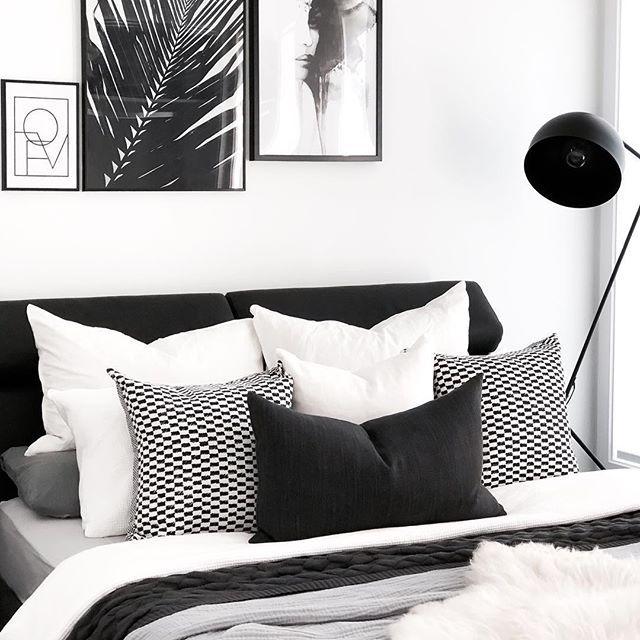Black and white bedroom Dream Home in 2018 Pinterest Bedroom