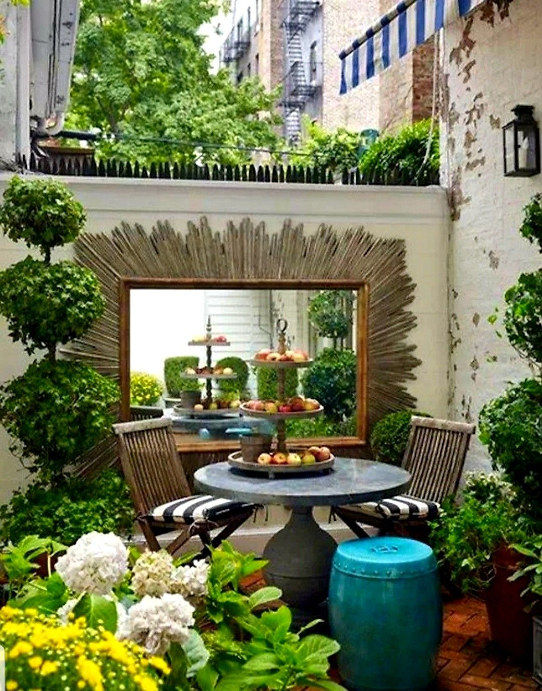Pin by Sherry Allnutt on Patio Ideas | Apartment patio ...