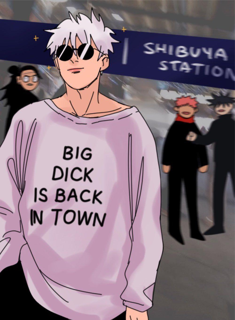 crying over shibuya arc on Twitter
