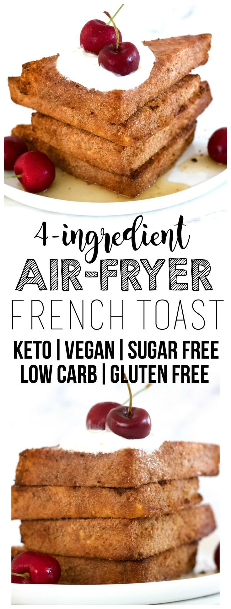 """This AirFryer Vegan French """"Toast"""" is totally delicious"""