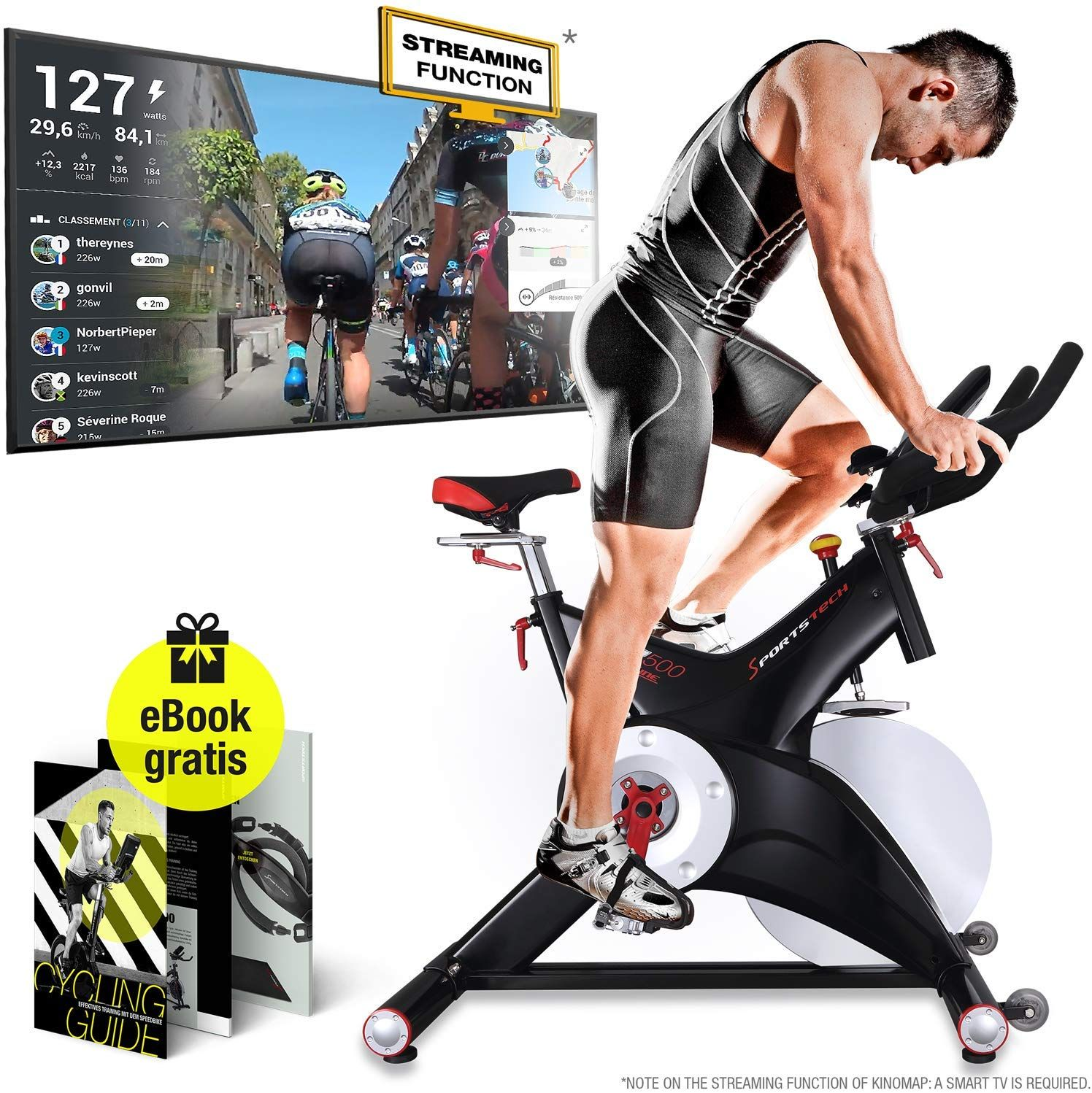 Sportstech Professional Indoor Cycling Exercise Bike Sx500 German