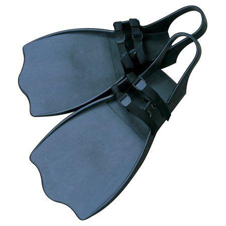 Classic Accessories High Thrust Stepin Fins - Black