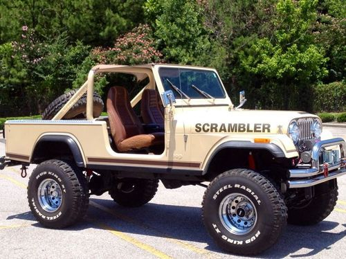 1982 Jeep Scrambler Cj8 Maintenance Restoration Of Old Vintage