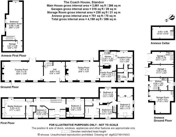 Image From Http Media Rightmove Co Uk 49k 48551 34905072 48551 Bis110213 Flp 00 0000 Max 600x600 Jpg Maine House Coach House Floor Plans