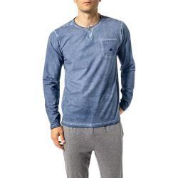 Photo of Jockey men's long-sleeved shirt, cotton, heather blue JockeyJockey