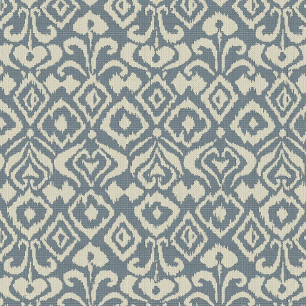 Home Decorators Collection Sunbrella Spades Denim Outdoor Fabric