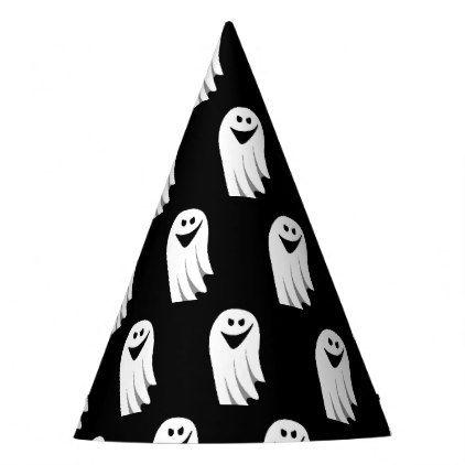 Halloween Ghost Cartoon Illustration 04 Party Hat Halloween Hats Party Ideas Idea Accessories Halloween Party Supplies Halloween Hats Halloween Party