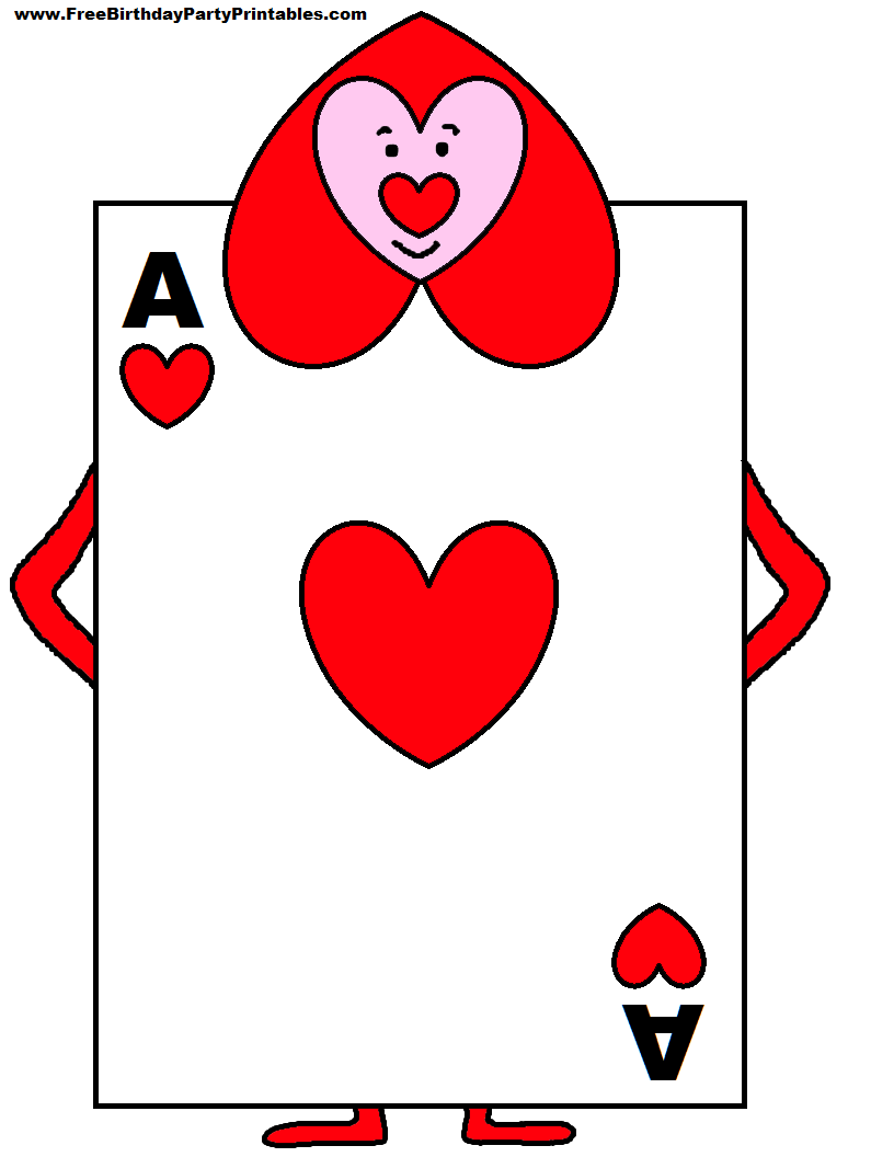 Playing Card Soldiers From Alice In Wonderland Alice In Wonderland Birthday Printable Playing Cards Alice In Wonderland