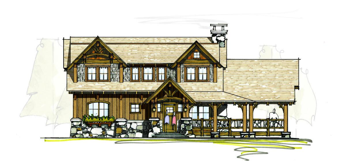 Plan 18706CK: Huge Outdoor Living Area | Outdoor living areas ...