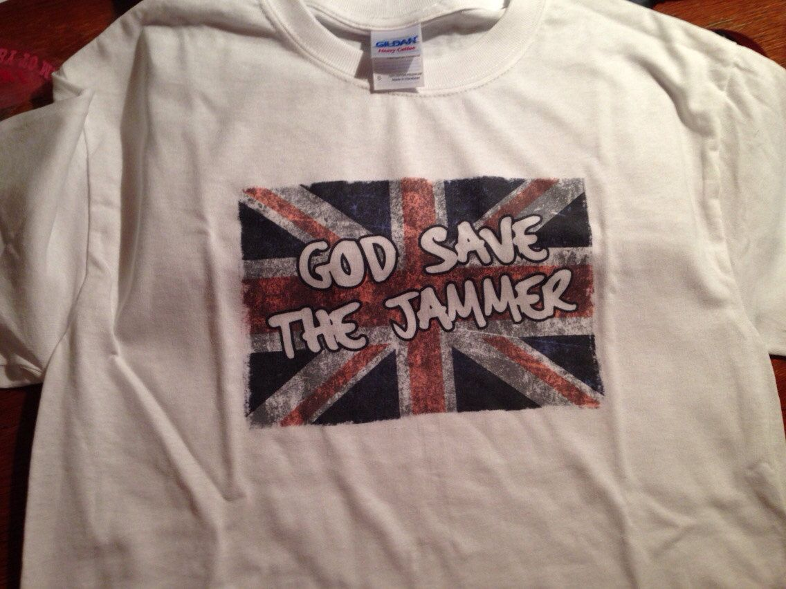 God Save the Jammer Tshirt by Rrrshop on Etsy, $18.00  Roller Derby
